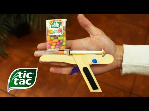 Simple & Fun Life Hack -  How to Make a TIC TAC GUN