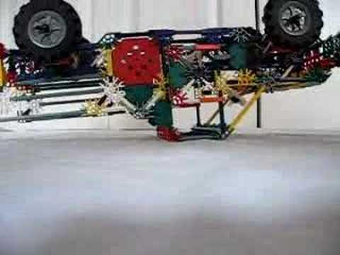 Knex suspension pickup truck