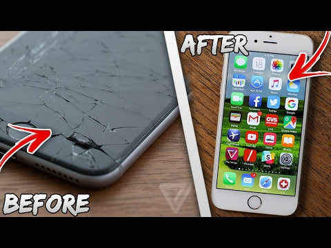 *2017 - 2018* REMOVE ANY CRACK OF YOUR PHONE  (FREE) EASY LIFE HACKS VIDEO
