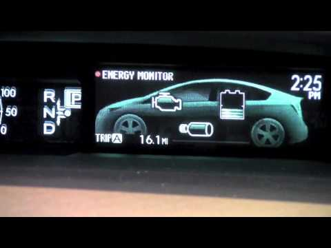 2012 | Toyota | Prius | Odometer and Trip Meter | How To by Toyota City Minneapolis MN