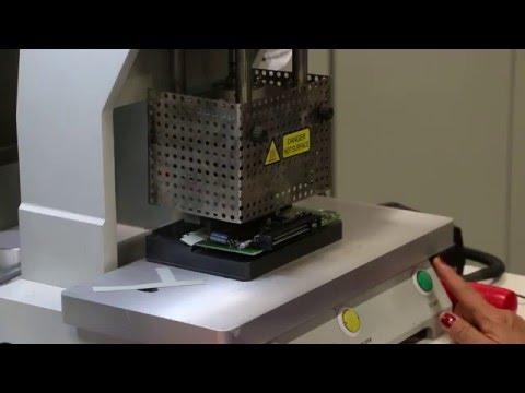 Professional LCD Bonding Machine for Saab SID (Ep 8)