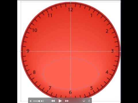How to Make a Clock in Adobe Illustrator - Part 3: Coloring the Face