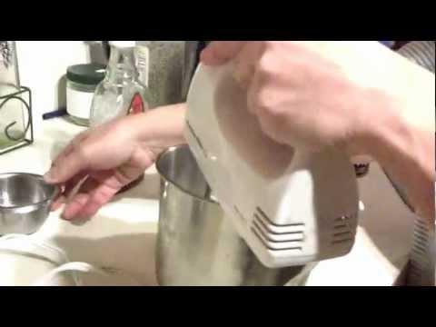 Vegan/Raw/Glutten free/ sugar free (Stevia) Whipped Cream Recipe - Coconut Milk recipe