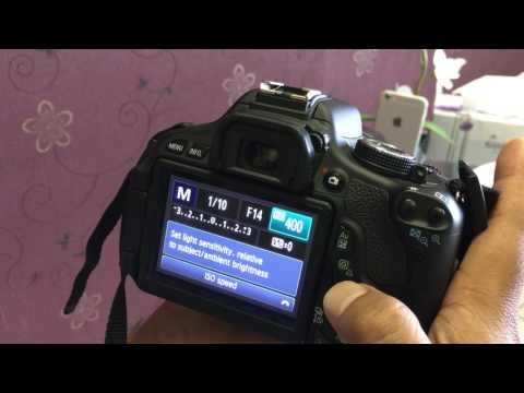 Canon 600D T3i best DSLR manual settings...