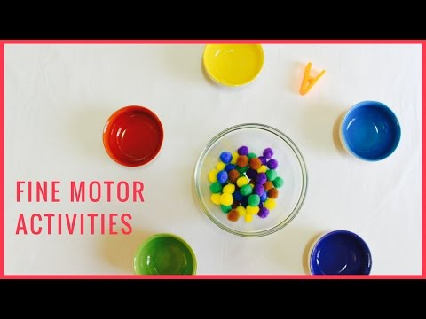 DIY | Fine Motor Activities ( Great for Toddlers)