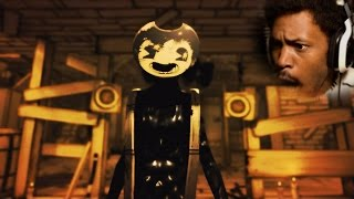 WHOSE MANS IS THIS!? | Bendy and the Ink Machine: Chapter 2