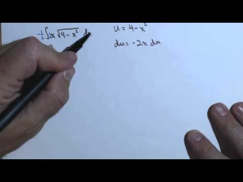 Antiderivative of function with radical using u substitution 230FRE6