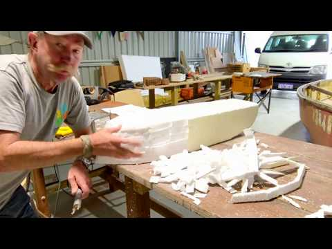 Model Boat 3 - 1940s Speed Boat - Shaping the hull