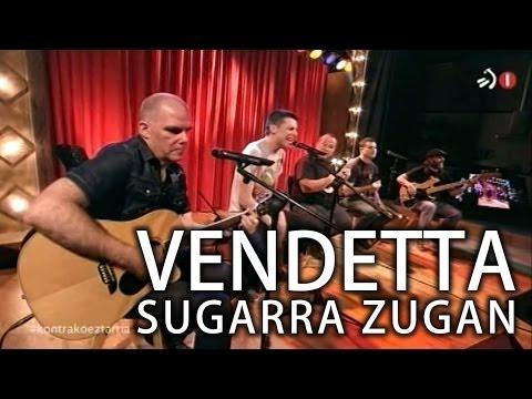 El tema Sugarra Zugan de Vendetta se pasa al swing