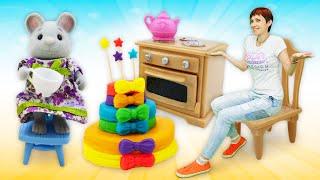 Download Мультфильм Капуки Кануки. Видео для детей: торт для друзей как в мультике про машинки Video