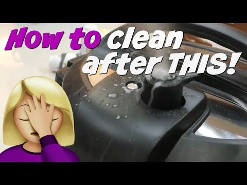 How to clean the Instant Pot / Get all those NOOKS and CRANNIES!