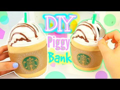 DIY Starbucks Piggy Bank! Make Your Own Piggy bank!