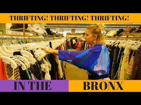 THRIFTING IN THE BRONX!