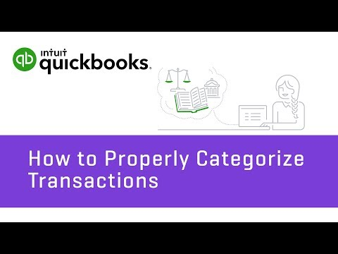 How to Categorize Transactions: Types of Accounts & Fixing Errors   QuickBooks Online Tutorial 2018