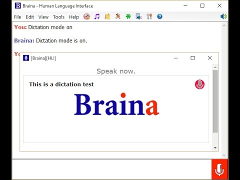 Braina Pro Speech Recognition Software for PC