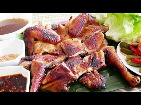 Gà quay, nướng - Cách ướp và Quay Gà, nướng Gà thơm ngon và màu sắc hấp dẫn by Vanh Khuyen