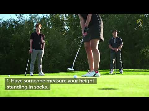 How to Measure Golf Clubs for Women