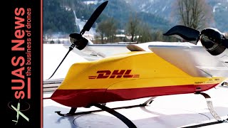 Delivery Drones | DHL steals UPS thunder