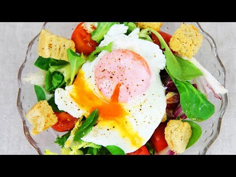How to Poach an Egg in a swirl of water - Tasty Egg Recipes by Warren Nash #Ad