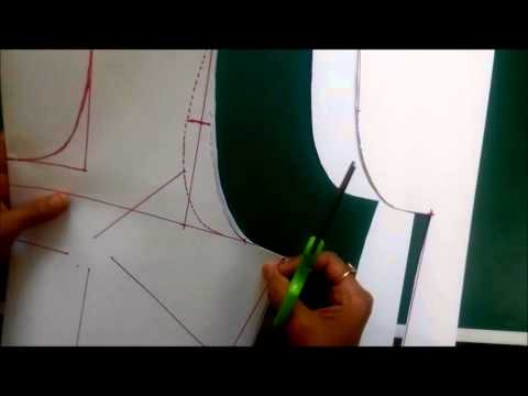 Simple Blouse Measurement Paper cutting and Stitching in Hindi Part 1