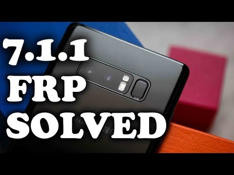 Note 8 - Remove Bypass FRP Google Account  N950F N950FD Samsung Galaxy