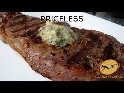 Grilled Sirloin Steak with Bernaise Butter | Gourmet Safari
