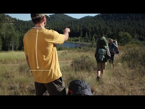Fitting a Backpack: Finding your torso length