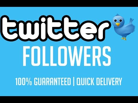 How to get Twitter Followers - Buy twitter Followers - Cheap Twitter Followers