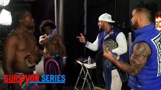 The Usos urge The New Day to hold their heads up: Exclusive, Nov. 19, 2017