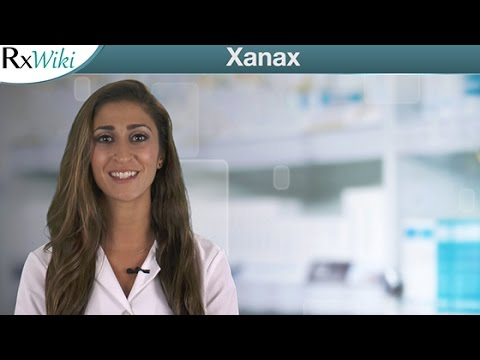 Xanax For the Treatment of Anxiety and Panic Disorder - Overview