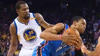 KEVIN DURANT FIGHTS RUSSELL WESTBROOK (Throwback) | NBA 2K17 Kevin Durant vs Russell Westbrook