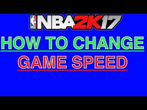 Nba 2k17 HOW TO CHANGE GAME SPEED (MyCareer) FT. HARRYBALLER EASIER BADGE GRINDS