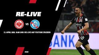 Eintracht Frankfurt - Racing Straßburg | Das komplette Spiel Re-LIVE