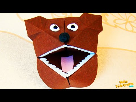 How to make a Bear Hand Puppet? DIY