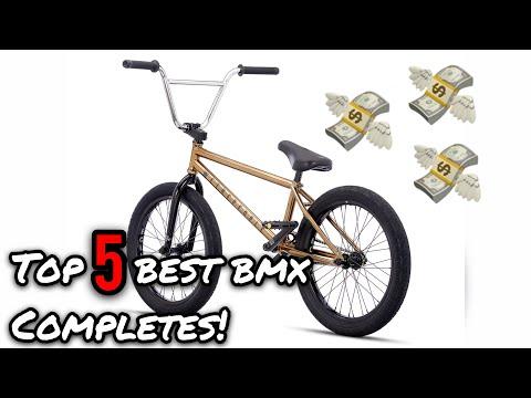 TOP 5 BEST COMPLETE BMX BIKES!