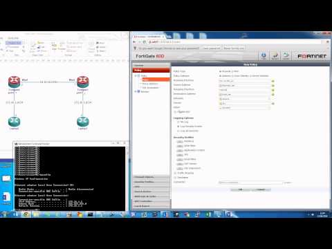 Fortigate IPSec Site-to-Site VPN