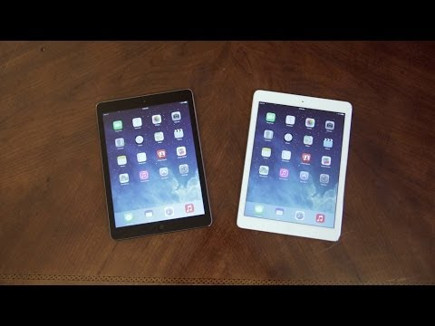 Apple iPad Air: White vs Black - Unboxing & Tour!