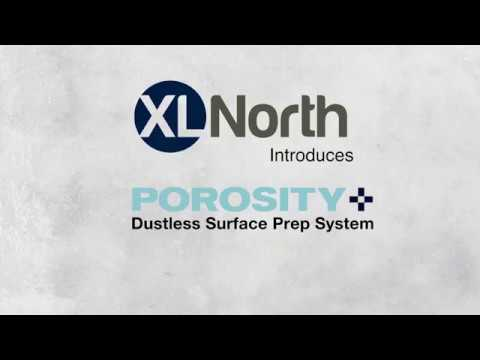 Demo on How to Use XL North's Porosity+ Dustless Concrete Surface Prep System