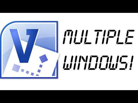 How to open files in Multiple Windows/Instances of Microsoft Visio 2010/2013/2016!