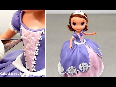 SOFIA Princess Doll Cake by Cakes StepbyStep