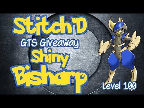 (CLOSED) Pokemon GTS Giveaway Shiny Bisharp Level 100 on  X, Y, & Omega Ruby & Alpha Sapphire