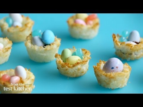 Coconut Macaroon Easter Baskets - From the Test Kitchen