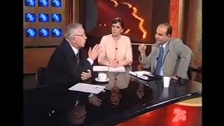 ზურაბ ჟვანია და რუსეთის დუმის ვიცე სპიკერი ლუკინი  2000 წლის 13 ნოემბერი