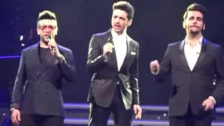 Il Volo concert in Bari 21.01.2016 Tour palasport