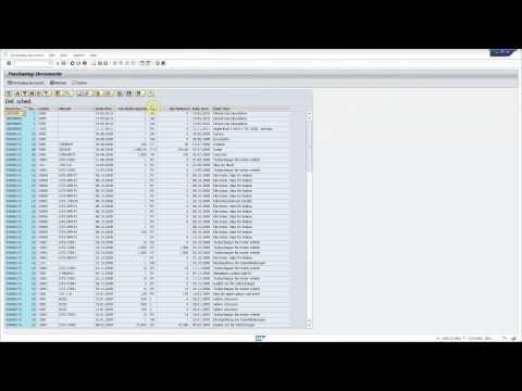 SAP transaction ME80FN: Enhance ALV grid with new fields for multiple views