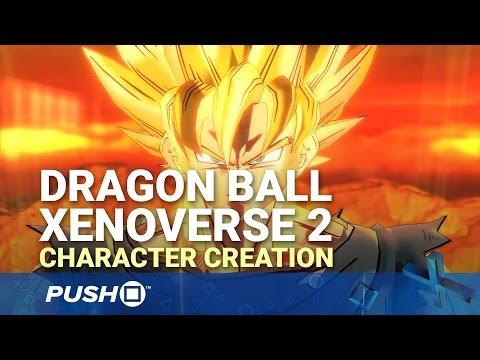Dragon Ball XenoVerse 2 Character Creation PS4 Beta Gameplay | PlayStation 4 | Footage