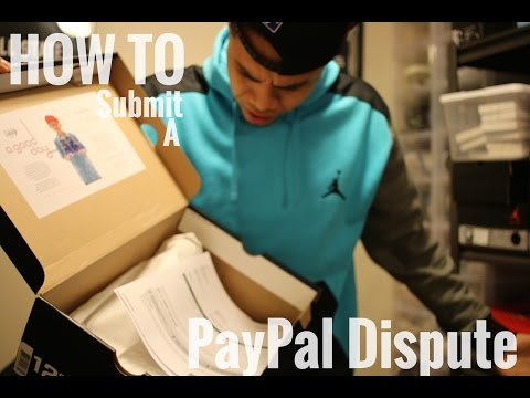 How to submit a dispute in PAYPAL