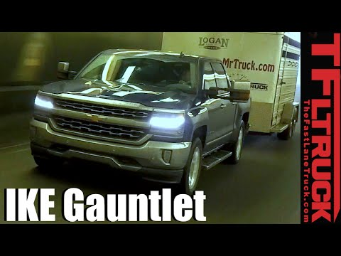 2016 Chevy Silverado 5.3L V8 takes on the Extreme Ike Gauntlet Towing Review