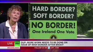 DUP: More work needs to be done on issue of Irish border after Brexit
