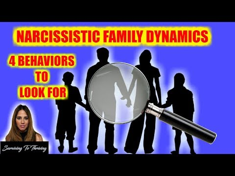 Narcissistic Family Dynamics - 4 Behaviors